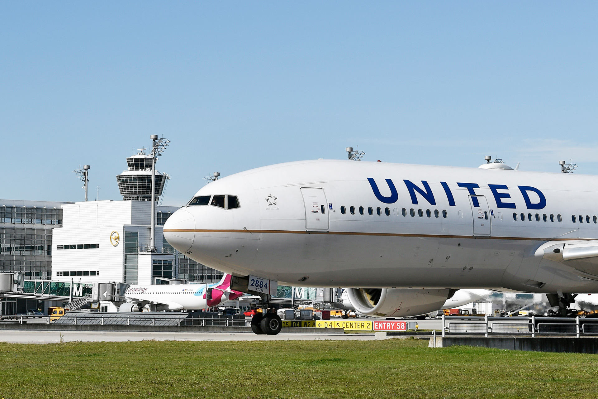 Boeing 777-222(ER) der United Airlines