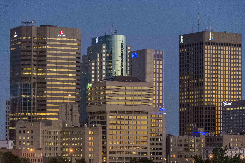 Skyline Exchange Deistrict am Morgen. Foto: Flora Jädicke