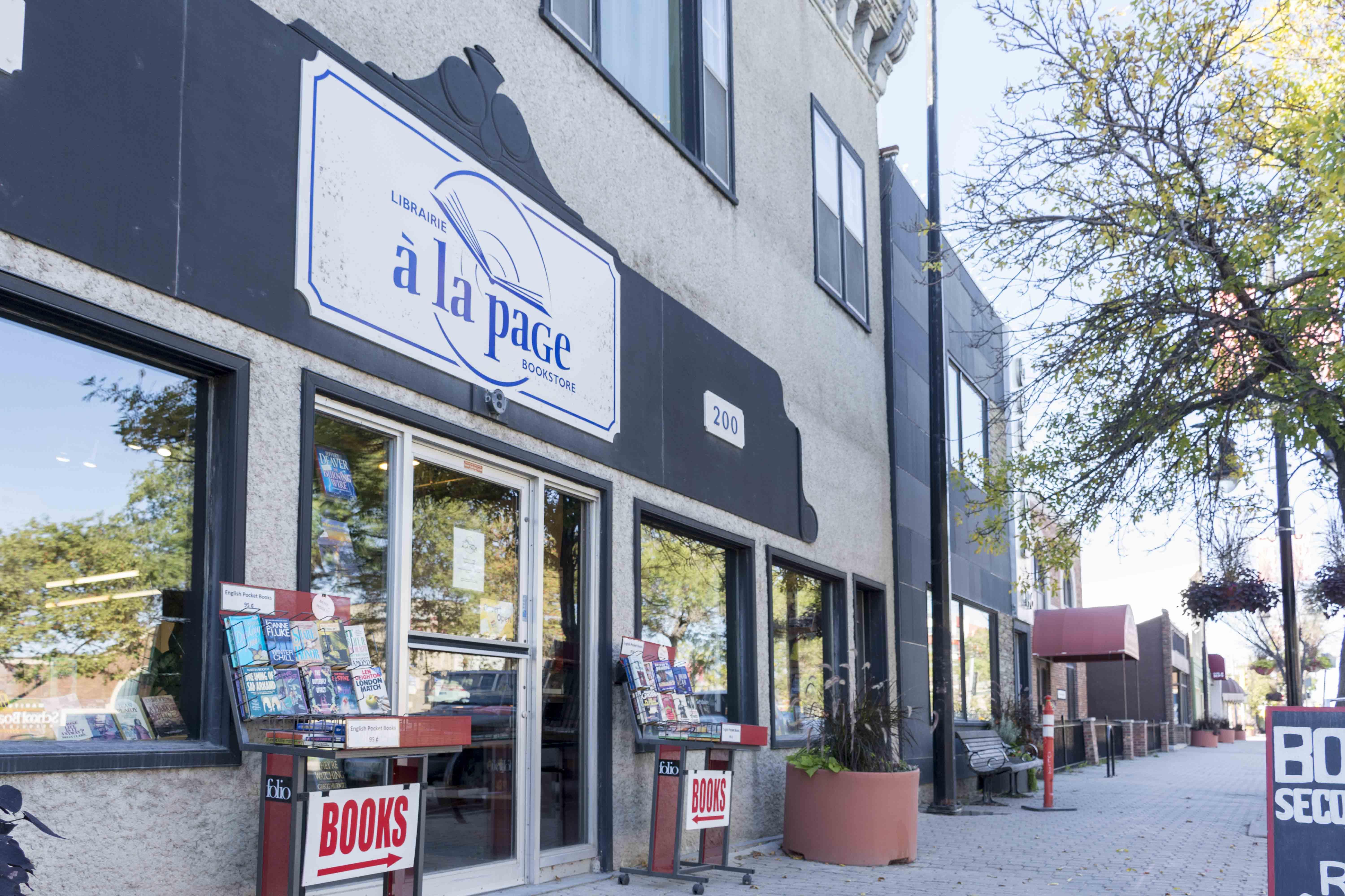 Book Store Winnipeg St. Boniface Foto: Flora Jädicke