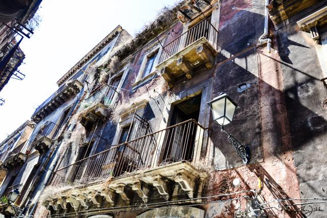 Catania_Häuser