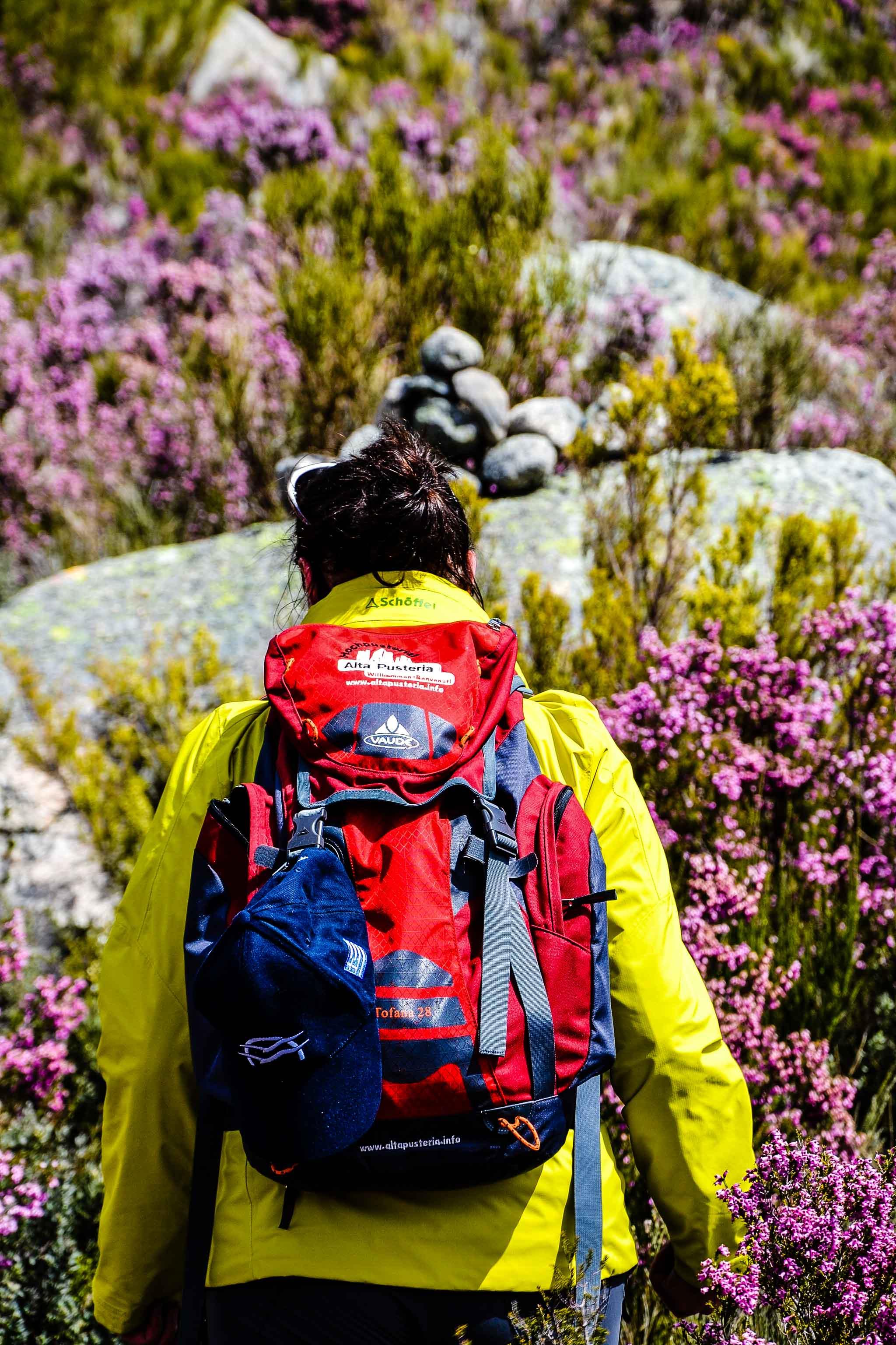 Auf den Wollwegen durch die Serra da Estrela schützt die Velvet ohne Innenjacke vor dem Wind. Foto: Manuel Franco