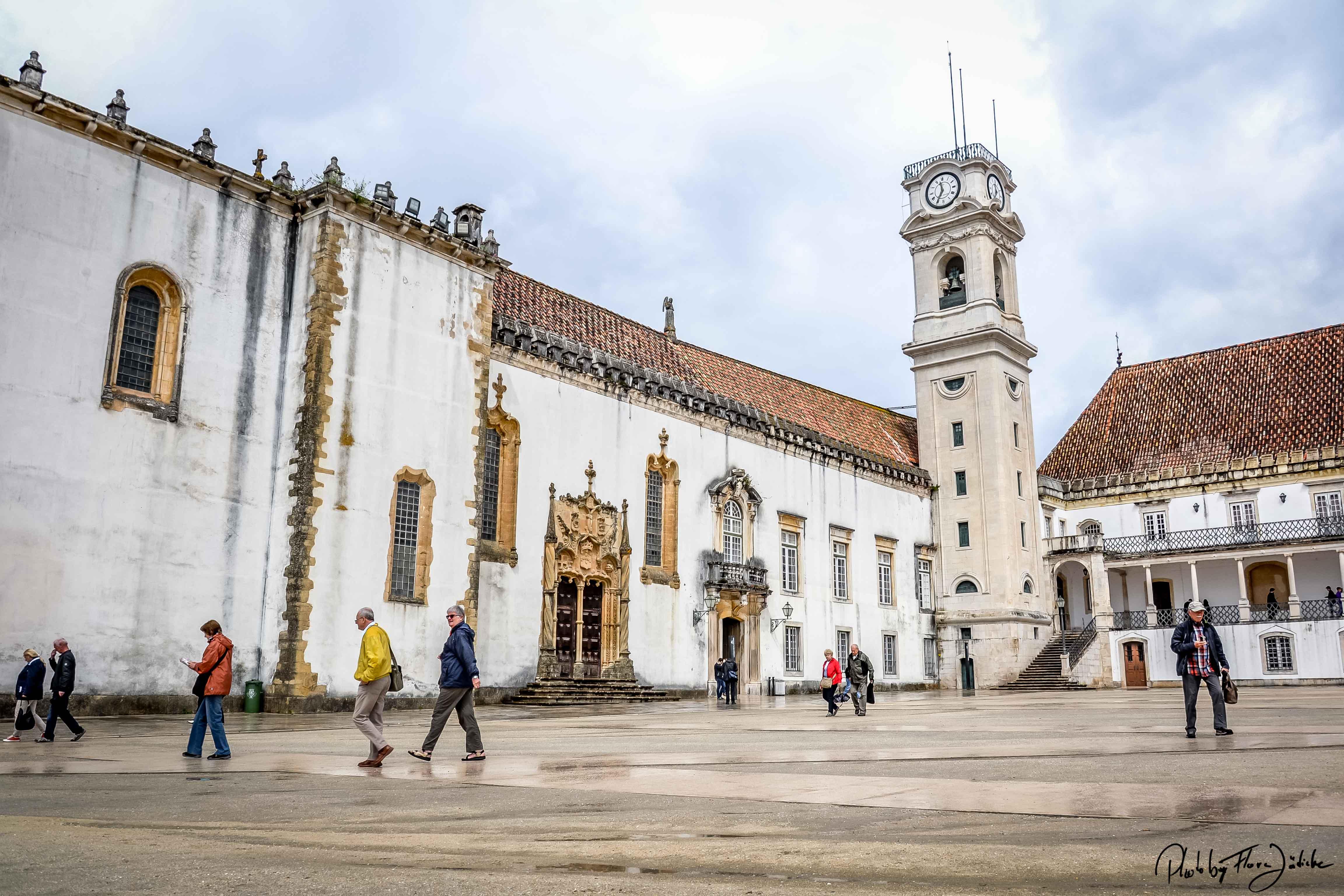 Campus der Universität von Coimbra. Foto: Flora Jädicke