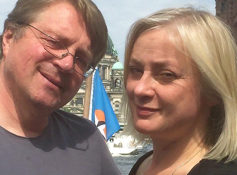 Gemeinsames_Autorenfoto_Rasso Knoller und Susanne Kilimann