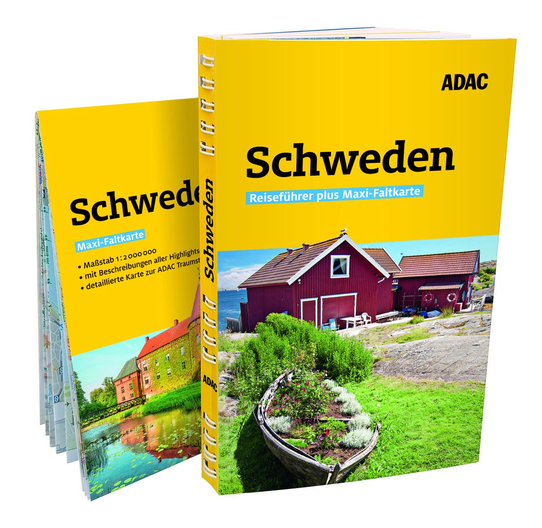 Reiseführer Schweden- Reiseführer plus Maxi Faltkarte