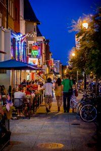 Adams Morgan Neighborhood. Nordöstlich von Georgestown in Washington DC. CREDIT Washington.org