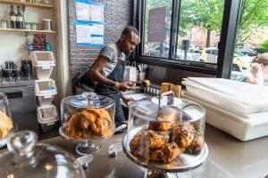 Frühstück in Washingtong DC. Foto: Flora Jädicke