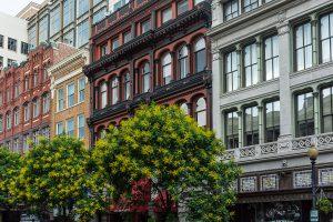 Historische Häuserfassaden in Washington DC. Foto: Flora Jädicke