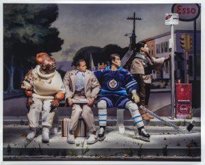 Diana Thorneycroft (Canadian, b. 1956). Portrait of Winnipeg (Life Is Like a Box of Chocolates), 2012. digital chromogenic photograph on paper, 420. 61 x 76.2 cm. Collection of the Winnipeg Art Gallery.