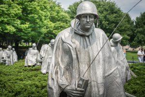 Korean War Memorial an der National Mall.Foto: Flora Jädicke