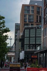 Neue Promenade an der Southwest Waterfront, genannt The Wharf. Foto: Flora Jädicke