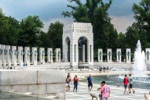 World War II National Memorial Fountain. Foto: Flora Jädicke