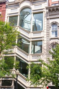 Elegantes Wohnhaus in Washington DC. Foto: Flora Jädicke